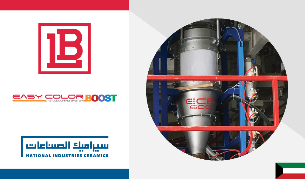 EASY COLOR BOOST: FIRST SUPPLY FOR NATIONAL INDUSTRIES CERAMICS (KUWAIT)